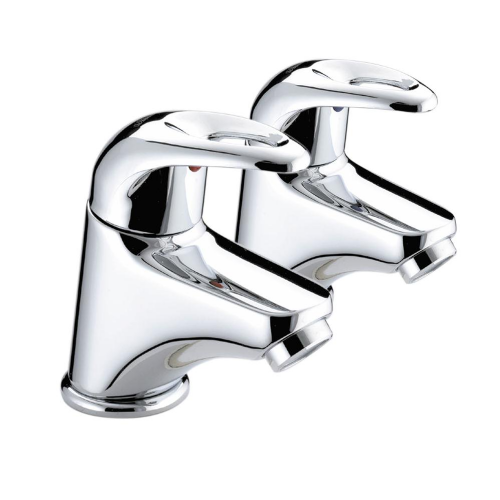 Bristan Java Bath Taps In Chrome - (Model J 3/4 C)